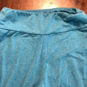 Lularoe blue leggings tween size